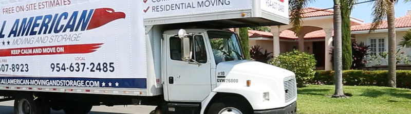 All American Moving and Storage Truck
